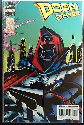 Doom 2099 #37 VF 1º Dibujo Marvel Comics