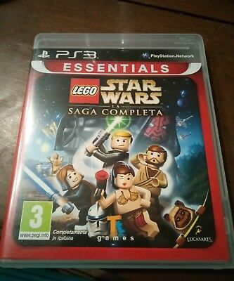 Lego Star wars la saga Completa  ps3  italiano