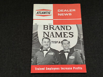 1968 ATLANTIC DEALER NEWS #3 magazine Service Station GAS OIL