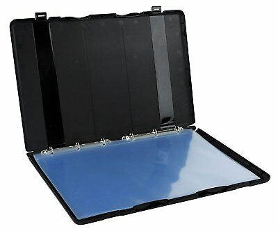 "Presentation/Portfolio Binder Kit, 11 x 17"" Pages Included - Black"