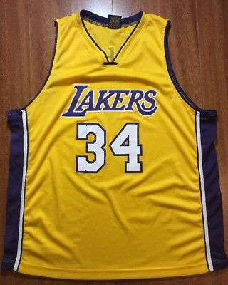 982c45e7a NIKE LOS ANGELS Lakers 1957 Throwback Shaquille O Neal Jersey Men s ...