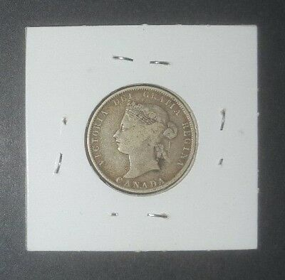 1872-H Canada Silver 25 Cent (25C) Coin - Quarter - High Cv *** Must See ***
