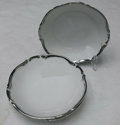 """HARMONY HOUSE china STARLIGHT pattern Two (2) Soup or Salad Bowls - 7-5/8"""""""