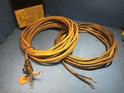 Western Electric Wires from Speach Coil of stage speaker horn driver 28'/8.6m