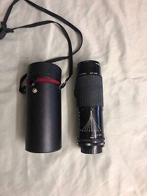 Sigma AF-APO 75-300mm f/ 4.5-5.6 Zoom MC Lens w/Promaster Spectrum 7 55mm Filter