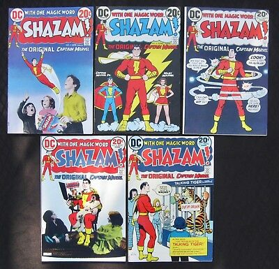 SHAZAM! Lot 2 3 5 6 7 -  (DC 1973) 9.0 VF/NM