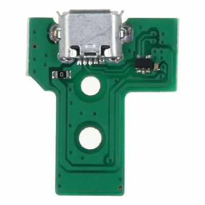 2x Controller USB charging socket port circuit board JDS-030 F001 12 Pin for PS4