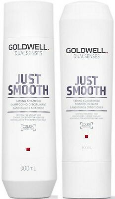 Goldwell Dualsenses Just Smooth Taming Shampoo 300 Ml And Conditioner 300 Ml