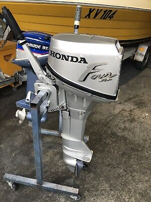 8 Hp Honda Outboard Motor Long Shaft Four Stroke ( Interstate Freight)