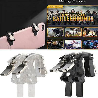 PUBG V3.0 S4 Mobile Gaming Trigger L1R1 Fire Button Aim Key Smartphone Shooter