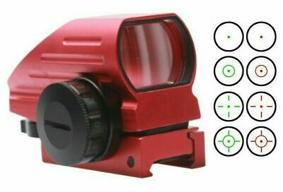 Field Sport Red Anodized Micro 4MOA Red Only Sight, Low Profile,Weaver Picatinny