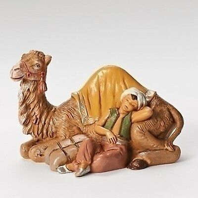 Fontanini 13cm Sleeping Cyrus with Camel Religious Christmas Nativity Figurine