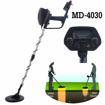 MD-4030 Metal Detector Deep Sensitive Search Gold Target Digger Hunter 6.5""