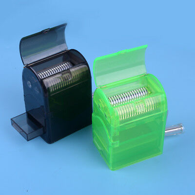 Muller Shredder Grinders Smoking Plastic Case Hand Crank Crusher Tobacco Cutter