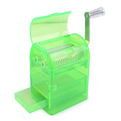 Hand Crank Tobacco Spice Herb Zinc Alloy Grinder Mill Crusher Gracious - Green