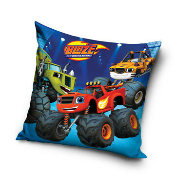New BLAZE and The Monster Machines 02 cushion cover 40x40 cm pillowcase race