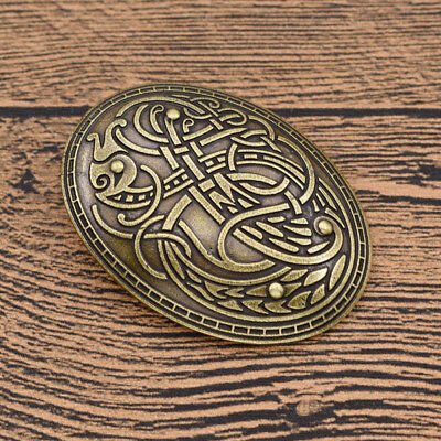 Norse Nordic Viking Amulet Brooch Pin Shirt Lapel  Charms Men's Fashion Jewelry