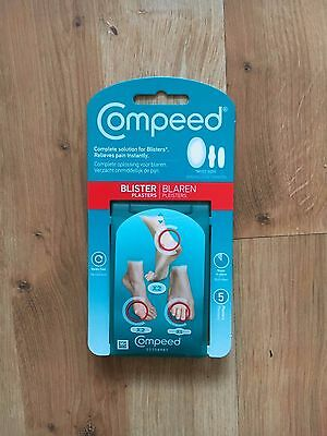 Compeed Blister Plasters Mixed Sizes 5 Plasters 484 Picclick Uk