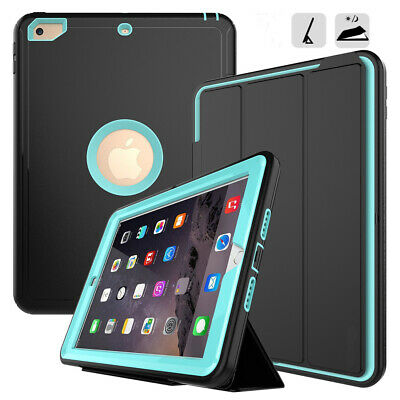 "iPad Case for iPad 6th Gen 2018 9.7"" Heavy Duty Shock/Dirt Proof Hard Case"