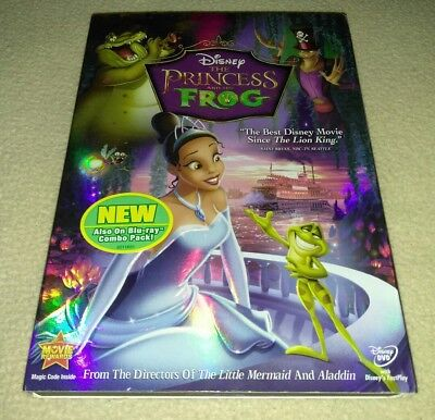 The Princess and the Frog (DVD, 2010