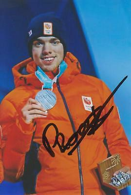 Pyeongchang 2018: Patrick Roest (NED, Eisschnelllauf, Olympia-Silber), Foto
