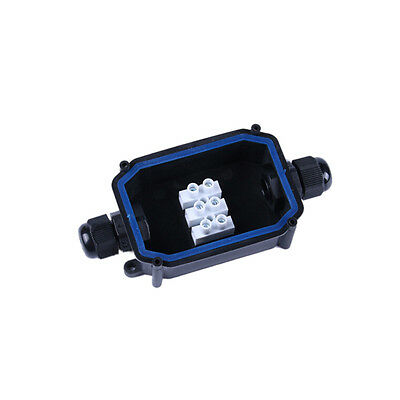 2 Way Outdoor Light Waterproof IP66 Underground cable connector junction box  SS