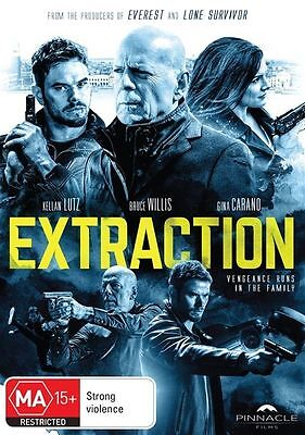Extraction - Bruce Willis | DVD Region 4 | Brand New & Sealed