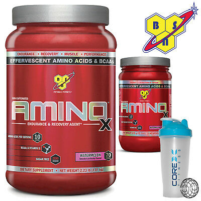 BSN Amino X BCAA's 435 gram 30 serves - 1kg 70 serves All Flavours Genuine New