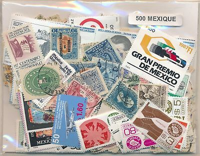 Mexico Package US 500 stamps different