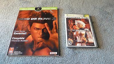 Dead or Alive 3 ( Xbox, 2003) & Prima's Guide - Disc is in GREAT condition!