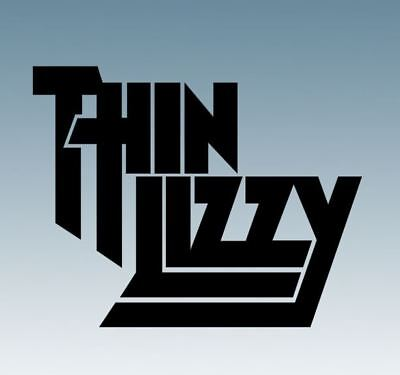 THIN LIZZY - Music Band Logo - Vinyl Decal Sticker For Cars, Laptops, Windows