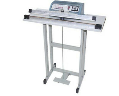 CE Foot Pedal Impulse Sealer heat sealing machine,Plastic Bag sealer 600mm*3mm
