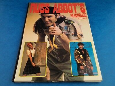 Vintage Book - RUSS ABBOT'S MADHOUSE ANNUAL - 1982 Grandreams UK