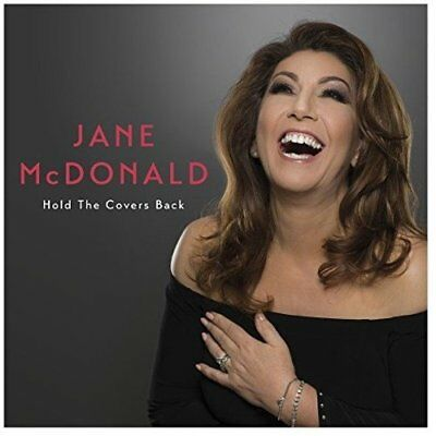 JANE McDONALD HOLD THE COVERS BACK CD (Released 2017)