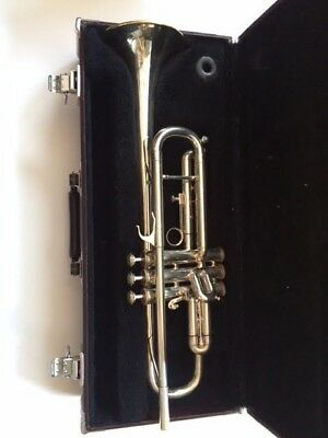 Blessing XL Silver Trumpet w/ case