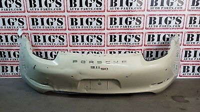 2012 2013 2014 2015 2016 Porsche Carrera 991 911 S Rear Bumper Cover Oem Used