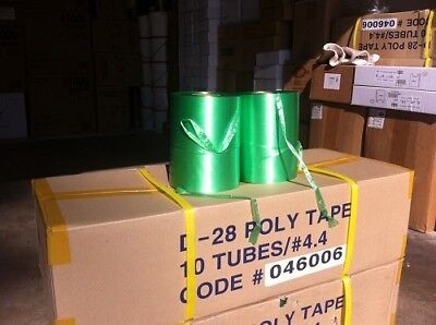 10 Tubes Polyfilm Cord sting Tape D-28 Length 13000'/Tube #4.4 ///everything1688