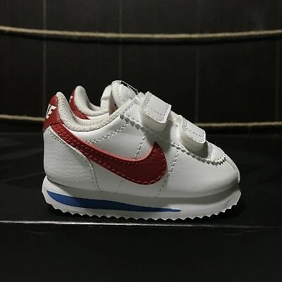 new products ec709 037ad NIKE CORTEZ BASIC SL Forrest Gump Red White Blue Infant Shoes 904769 103  Size 3c