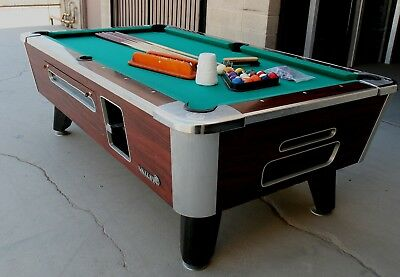 VALLEY COUGAR Coin Operated Pool Table For Home Or Business - Valley coin operated pool table