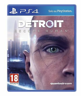 Sony Detroit: Become Human, PS4 videogioco Basic PlayStation 4 ITA Detroit: Beco