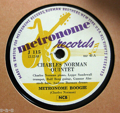 Nice Price: Charles Norman Quintet - Metronome Boogie / Anitra Dance Boogie