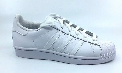 08dc3827c97484 BOY S ADIDAS SUPERSTAR Casual Shoes White White B23641 Size 7 ...