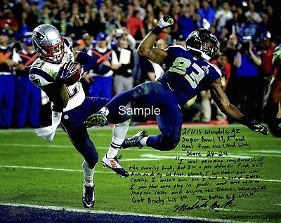 New England Patriots Malcolm Butler Signed 8x10 Photo Reprint Autographed RP