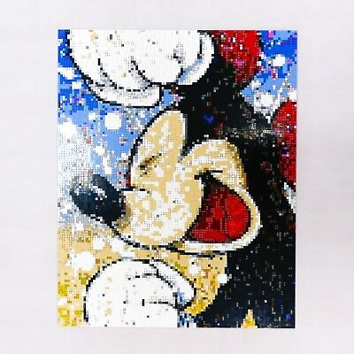 Mickey Picture 8000pcs WeTurn your photo into Legopaint hand made ART portrait