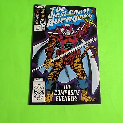 The West Coast Avengers #30 Marvel Comics Copper Age (1988) C1630