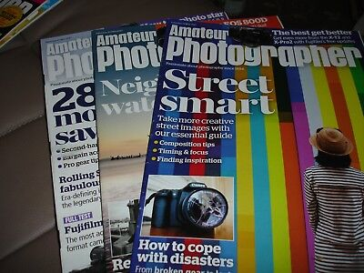 Amateur Photography Magazines 13th, 20th & 27th May 2017