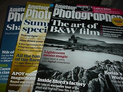 Amateur Photography Magazines 3rd, 10th & 17th June  2017
