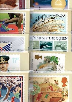 Gb - Phq Cards - 1986 - Commemorative Year Sets -  Ten  Complete Sets Mint