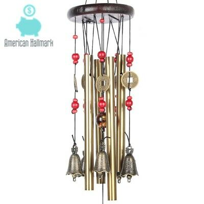 Wind Chimes Vintage Outdoor Beautiful Tune Amazing Grace Chime Handcraft Decors