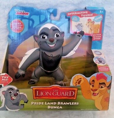 Disney Junior The Lion Guard Prideland Brawlers Bunga Interactive Lights Actions